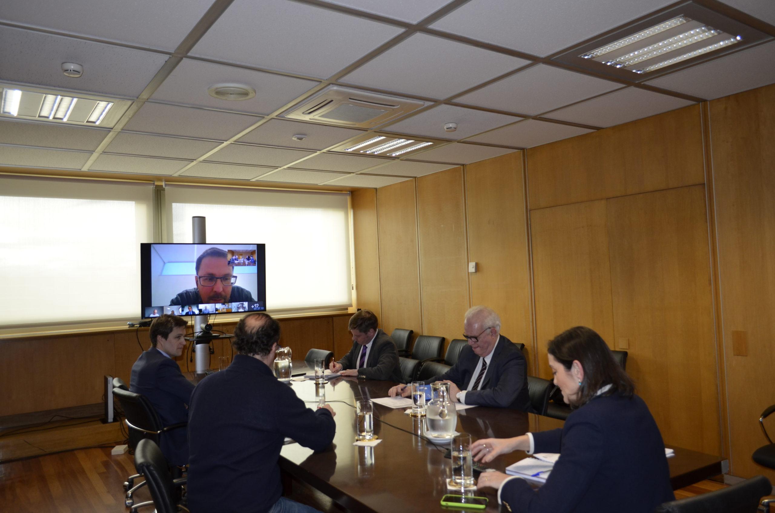 Reunión extraordinaria de la Conferencia Sectorial de Industria por el COVID-19