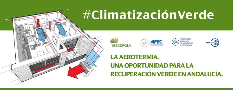 Encuentro Digital: «La Aerotermia. Una oportunidad para la recuperación verde en Andalucía» – 9 y10 febrero 2021
