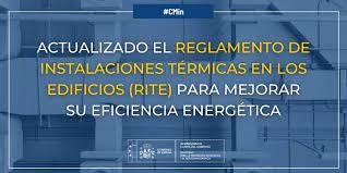 Actualización Reglamento de Instalaciones Térmicas en los Edificios