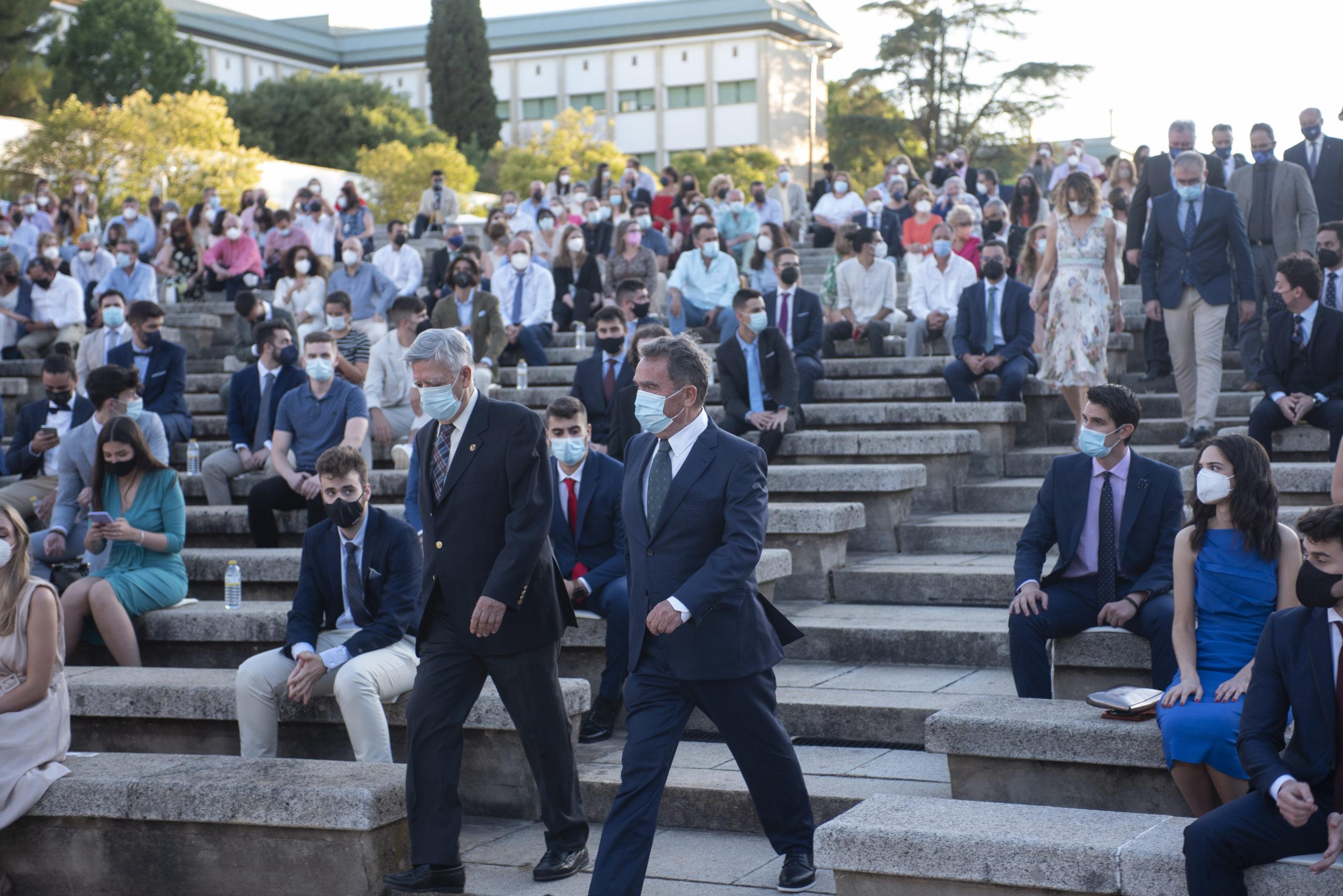 Acto de entrega de insignias y diplomas de la Escuela Politécnica Superior de Córdoba